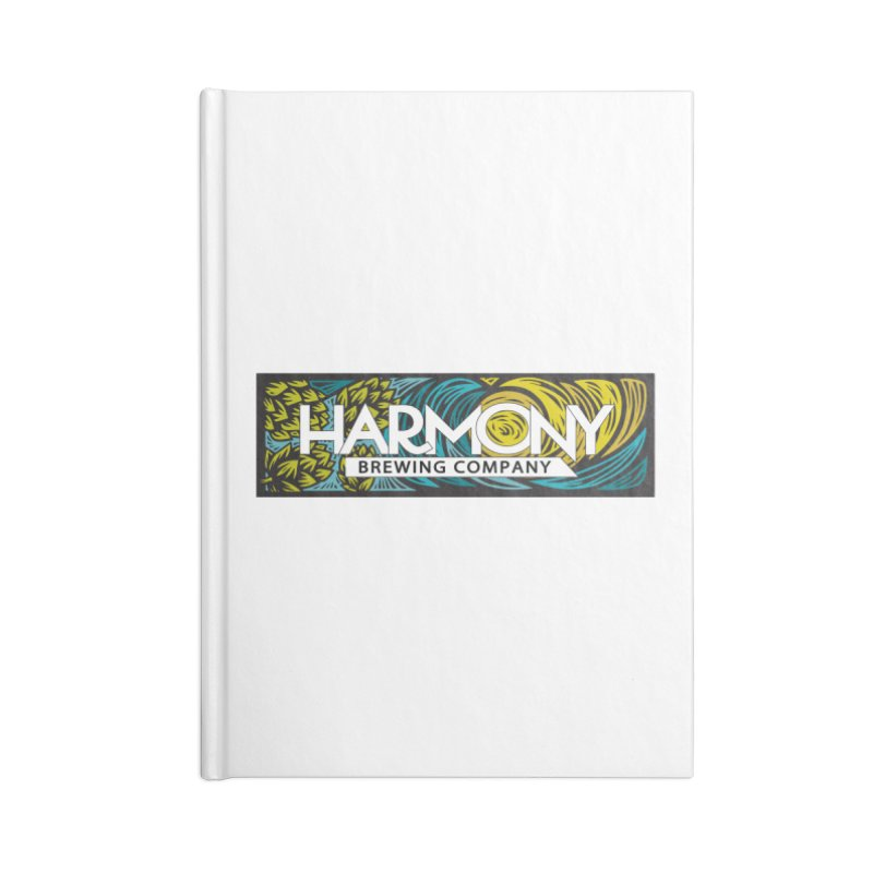 Seeking Harmony Accessories Lined Journal Notebook by Harmony Brewing Company
