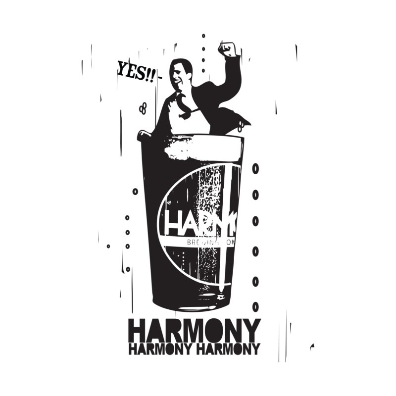 YES! Home Shower Curtain by Harmony Brewing Company