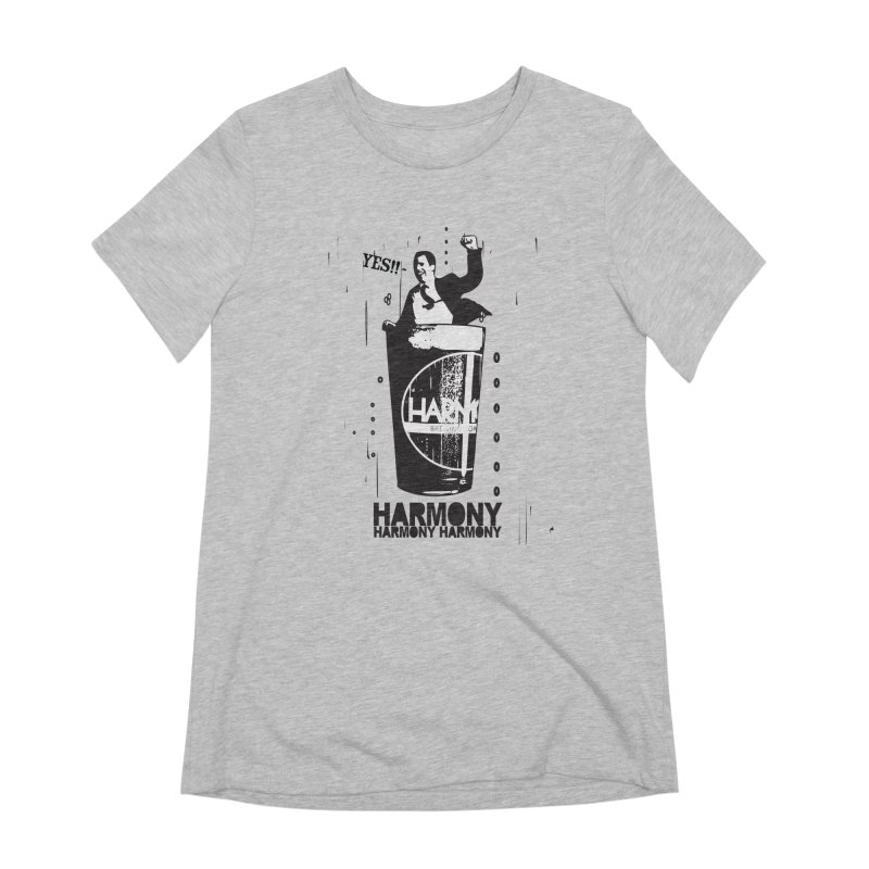 YES! Women's Extra Soft T-Shirt by Harmony Brewing Company