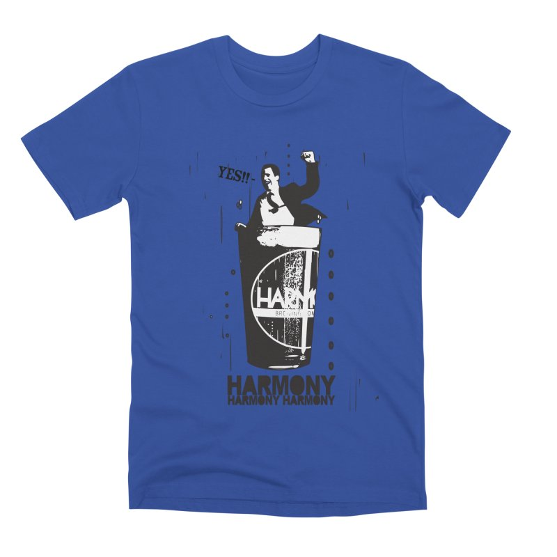 YES! Men's Premium T-Shirt by Harmony Brewing Company