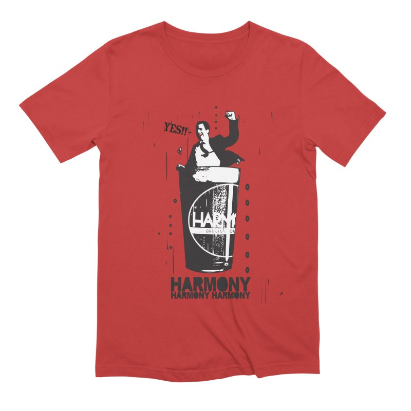 YES! Men's Extra Soft T-Shirt by Harmony Brewing Company