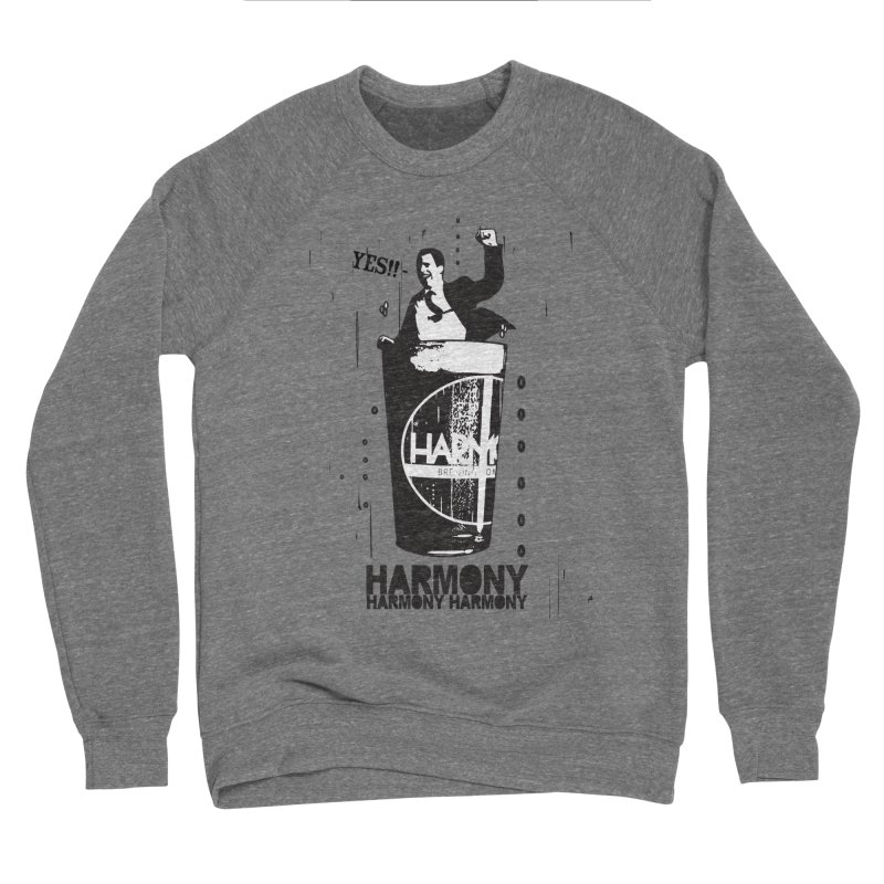 YES! Men's Sponge Fleece Sweatshirt by Harmony Brewing Company