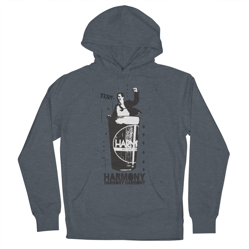 YES! Women's French Terry Pullover Hoody by Harmony Brewing Company