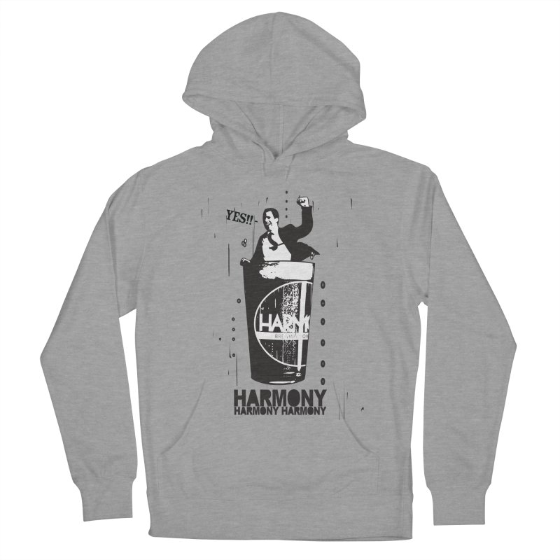 YES! Men's French Terry Pullover Hoody by Harmony Brewing Company