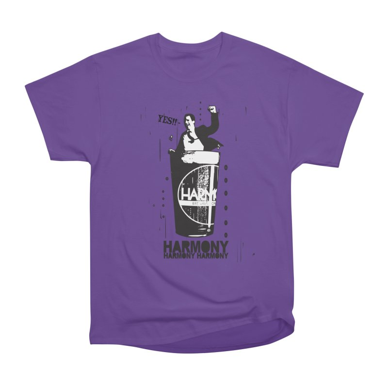 YES! Men's Heavyweight T-Shirt by Harmony Brewing Company