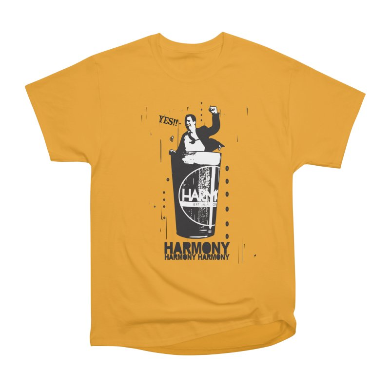 YES! Men's Heavyweight T-Shirt by Harmony Brewing Company