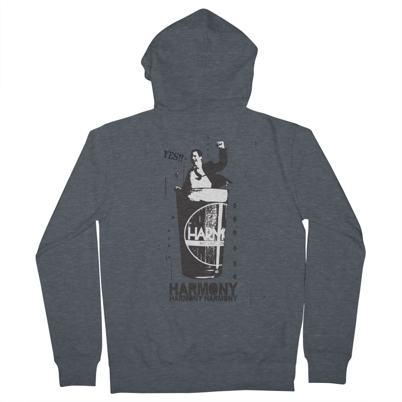 YES! Women's Zip-Up Hoody by Harmony Brewing Company