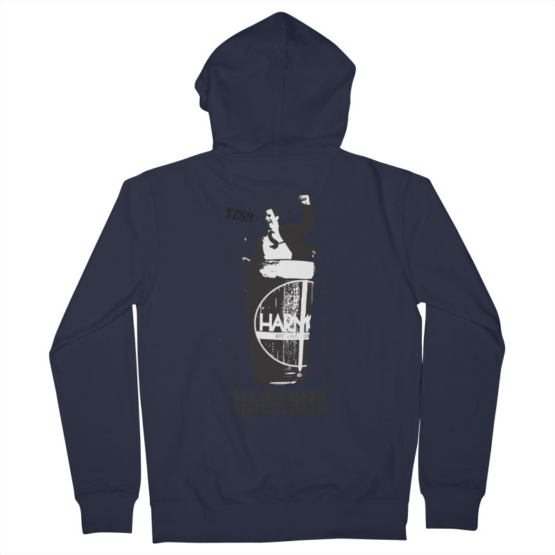 YES! Women's French Terry Zip-Up Hoody by Harmony Brewing Company