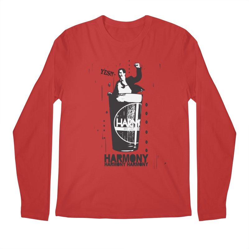 YES! Men's Regular Longsleeve T-Shirt by Harmony Brewing Company