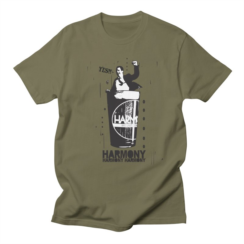 YES! Men's Regular T-Shirt by Harmony Brewing Company