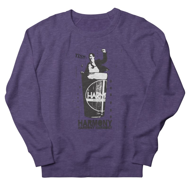 YES! Men's French Terry Sweatshirt by Harmony Brewing Company