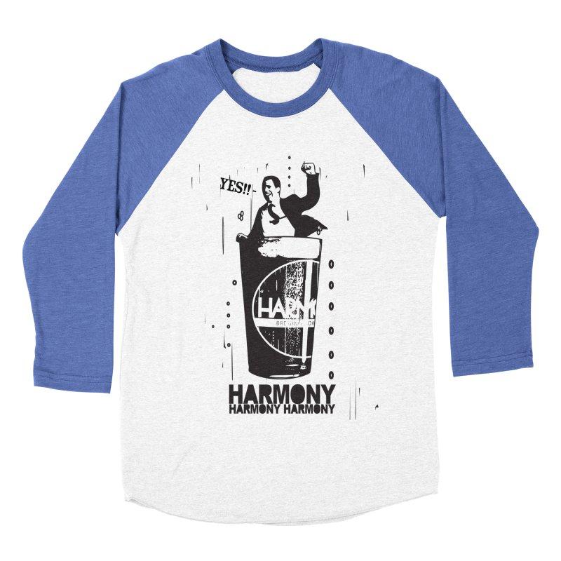 YES! Men's Baseball Triblend Longsleeve T-Shirt by Harmony Brewing Company