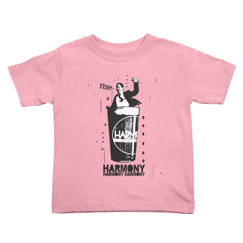 YES! Kids Toddler T-Shirt by Harmony Brewing Company