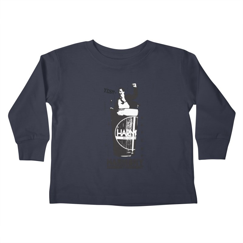 YES! Kids Toddler Longsleeve T-Shirt by Harmony Brewing Company