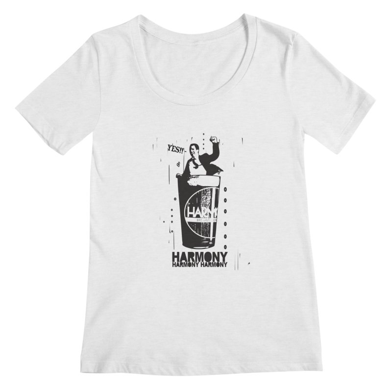 YES! Women's Regular Scoop Neck by Harmony Brewing Company