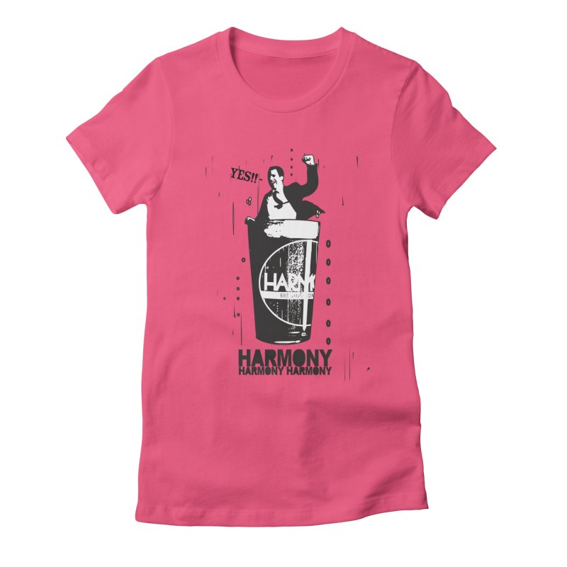 YES! Women's Fitted T-Shirt by Harmony Brewing Company