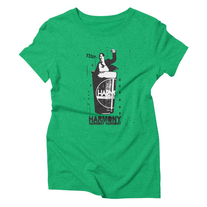 YES! Women's Triblend T-Shirt by Harmony Brewing Company