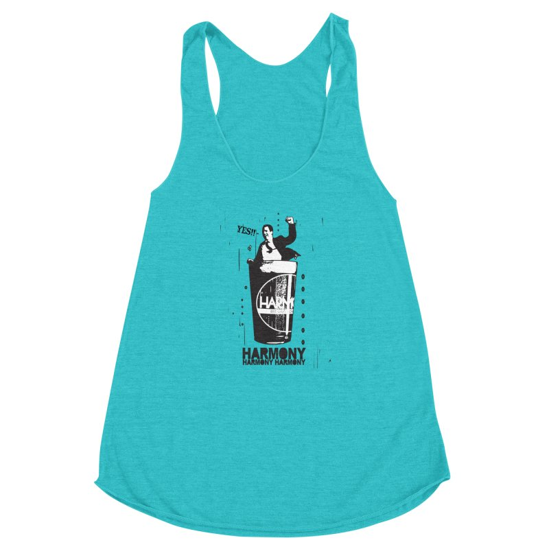 YES! Women's Racerback Triblend Tank by Harmony Brewing Company