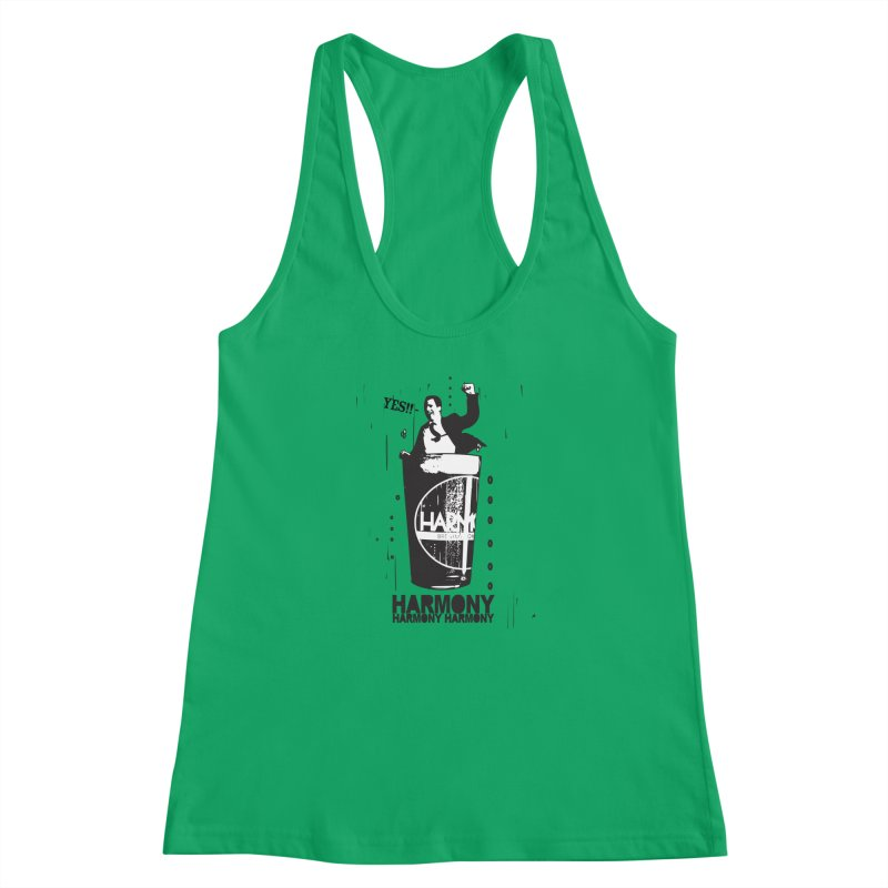 YES! Women's Racerback Tank by Harmony Brewing Company