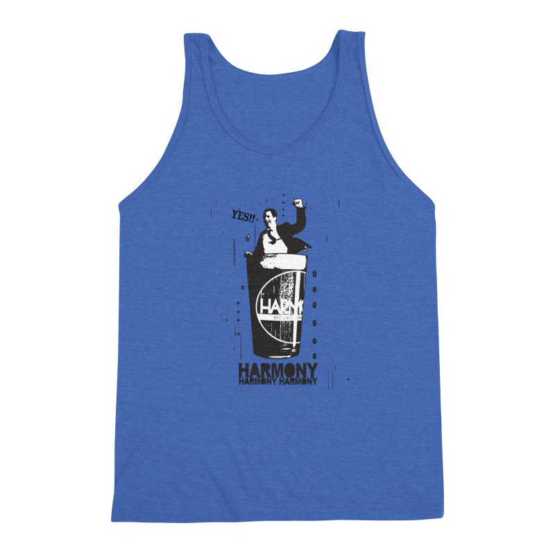 YES! Men's Triblend Tank by Harmony Brewing Company