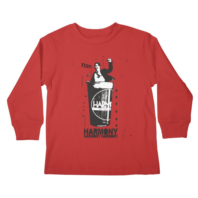 YES! Kids Longsleeve T-Shirt by Harmony Brewing Company