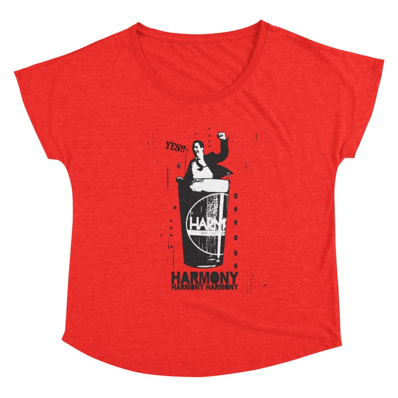 YES! Women's Scoop Neck by Harmony Brewing Company