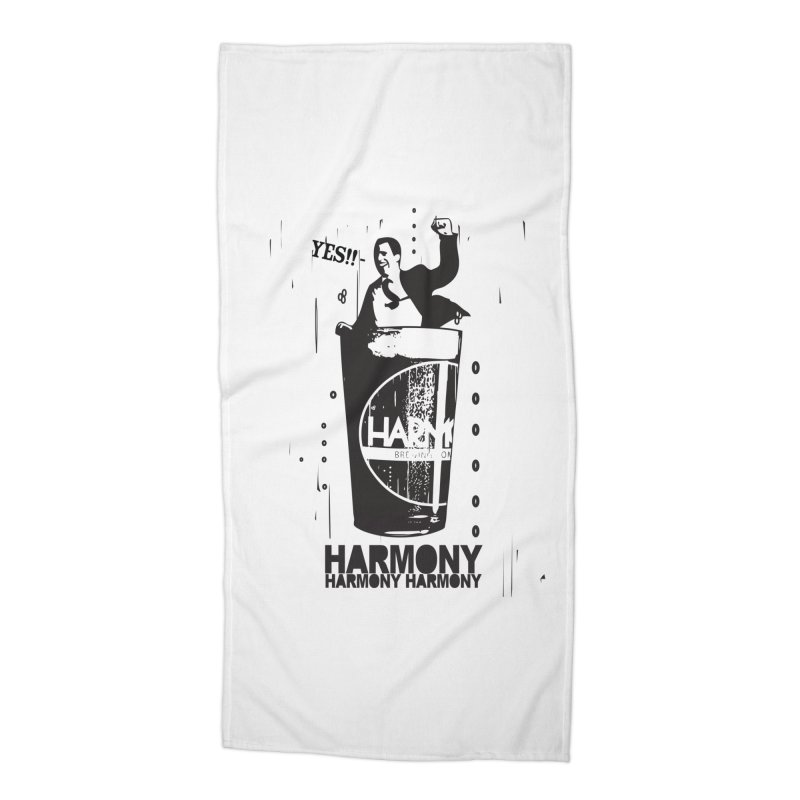 YES! Accessories Beach Towel by Harmony Brewing Company