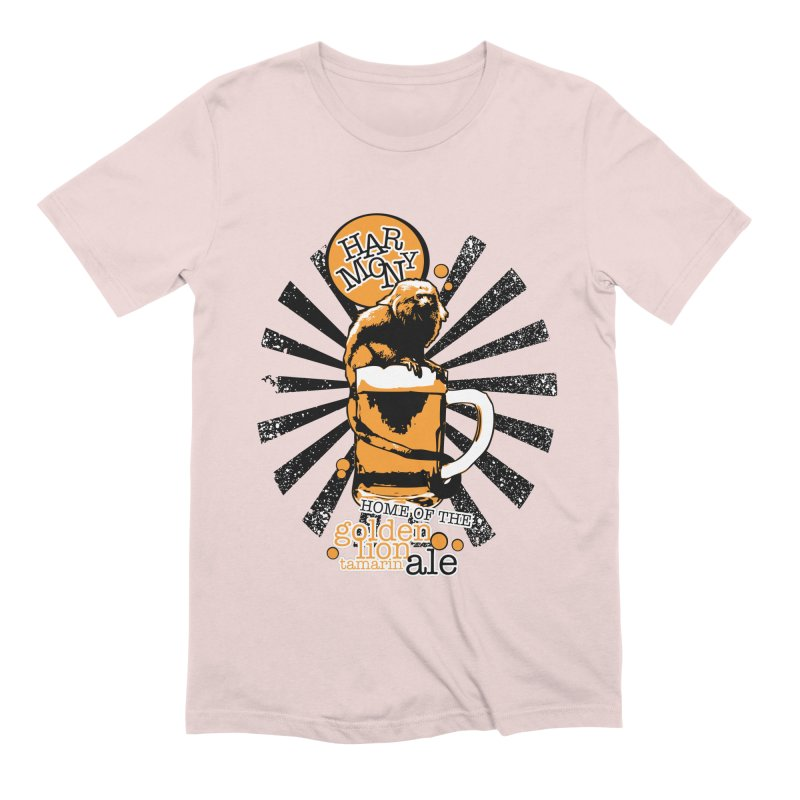 Golden Lion Tamarin Men's Extra Soft T-Shirt by Harmony Brewing Company