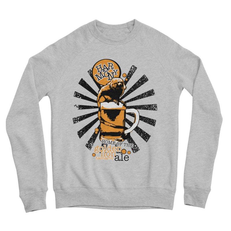 Golden Lion Tamarin Men's Sponge Fleece Sweatshirt by Harmony Brewing Company