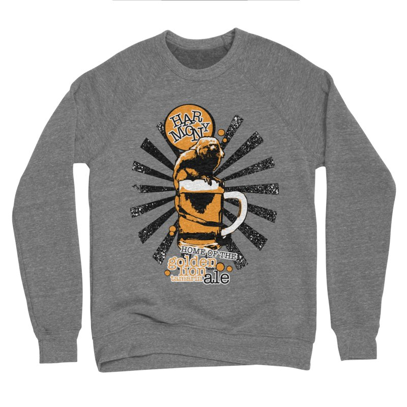 Golden Lion Tamarin Men's Sponge Fleece Sweatshirt by Harmony Brewing Company