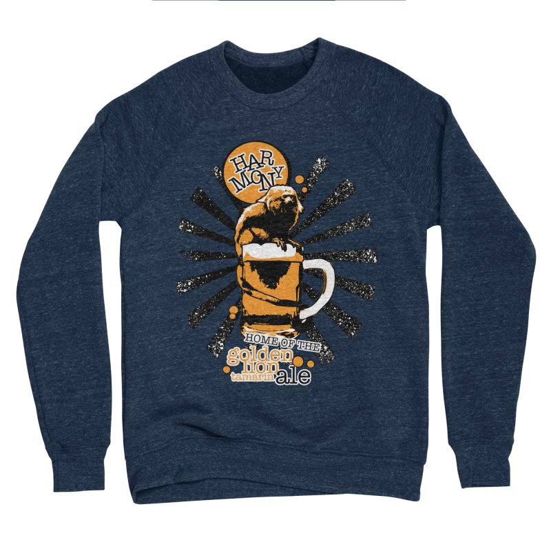 Golden Lion Tamarin Women's Sponge Fleece Sweatshirt by Harmony Brewing Company