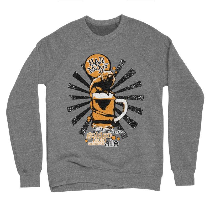 Golden Lion Tamarin Women's Sponge Fleece Sweatshirt by Harmony Brewing Company