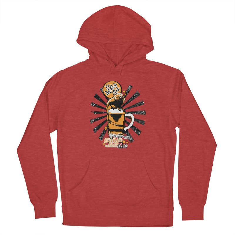 Golden Lion Tamarin Women's French Terry Pullover Hoody by Harmony Brewing Company