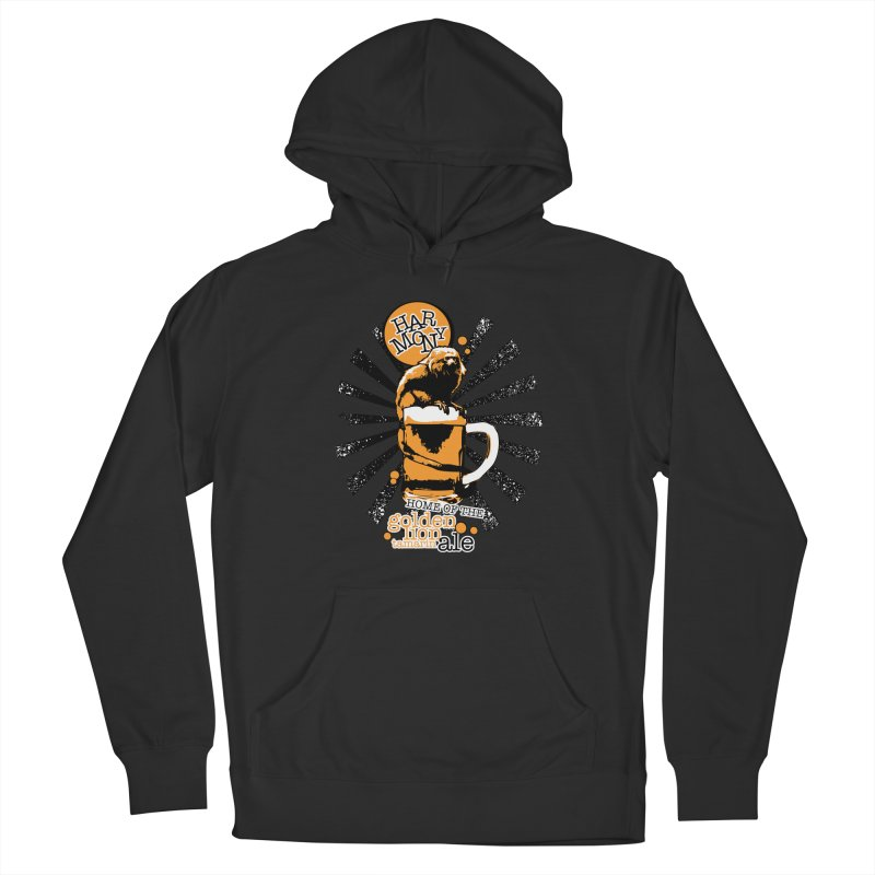 Golden Lion Tamarin Women's Pullover Hoody by Harmony Brewing Company