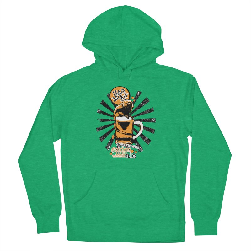 Golden Lion Tamarin Men's Pullover Hoody by Harmony Brewing Company