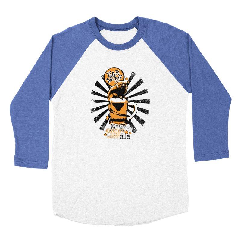 Golden Lion Tamarin Women's Longsleeve T-Shirt by Harmony Brewing Company