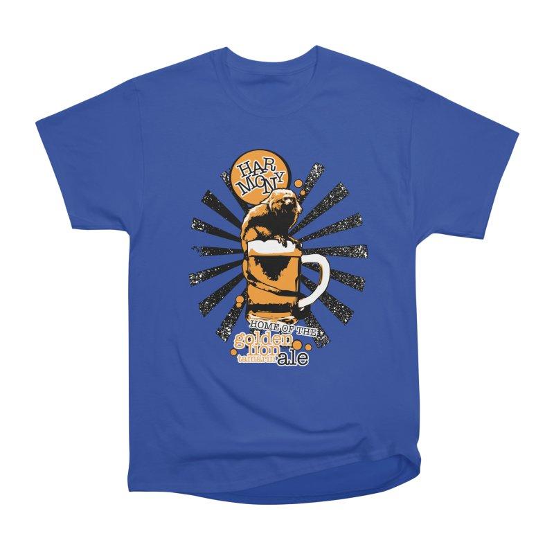 Golden Lion Tamarin Women's T-Shirt by Harmony Brewing Company