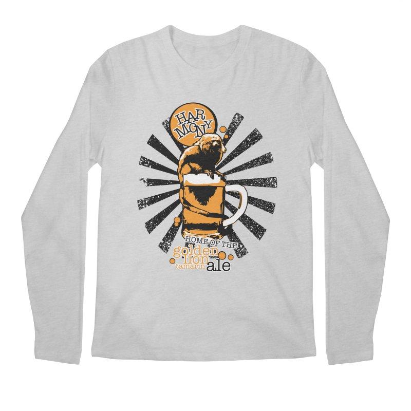 Golden Lion Tamarin Men's Longsleeve T-Shirt by Harmony Brewing Company