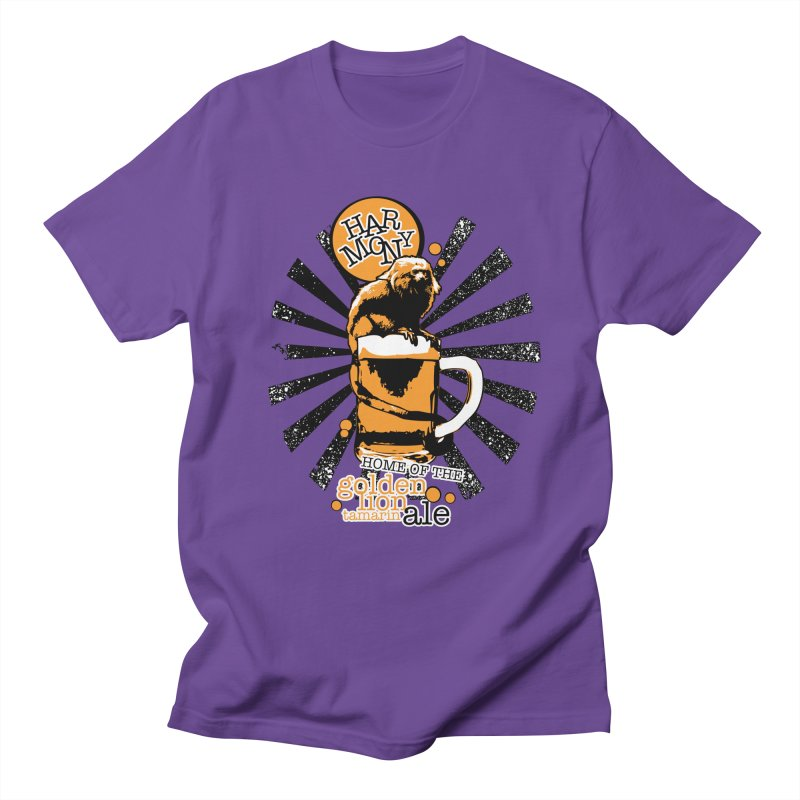 Golden Lion Tamarin Women's Regular Unisex T-Shirt by Harmony Brewing Company
