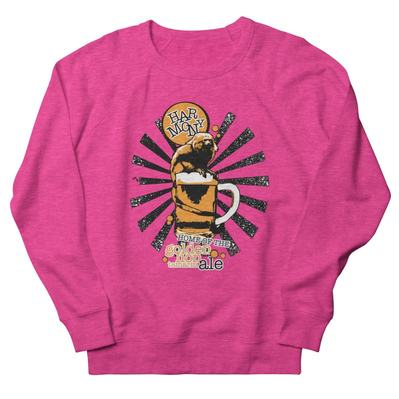 Golden Lion Tamarin Women's Sweatshirt by Harmony Brewing Company