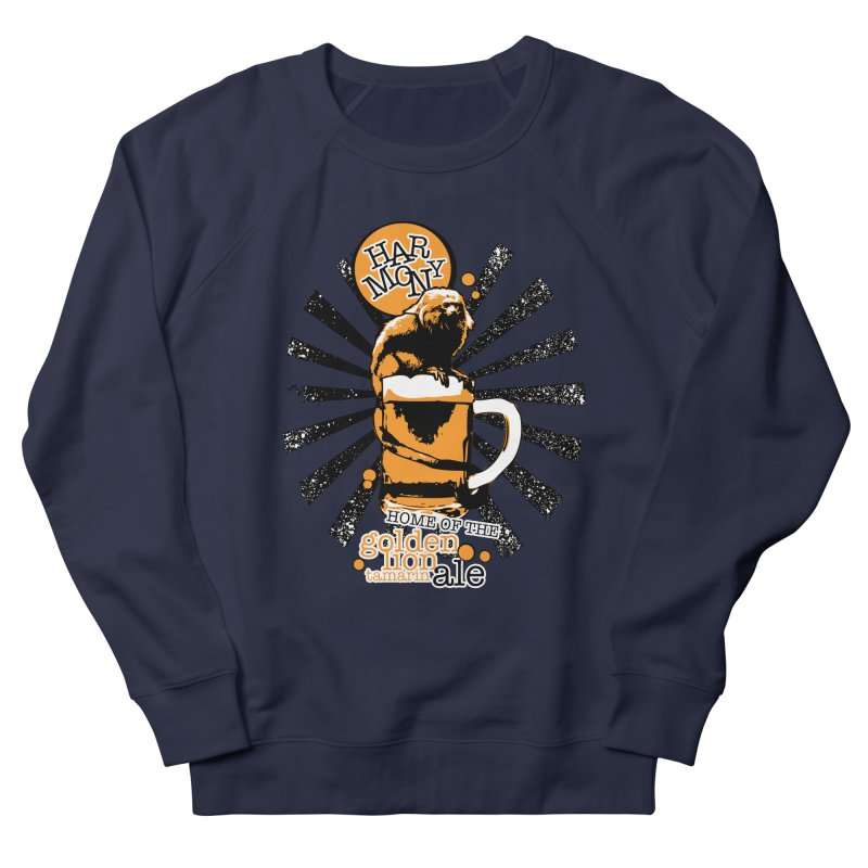 Golden Lion Tamarin Women's French Terry Sweatshirt by Harmony Brewing Company