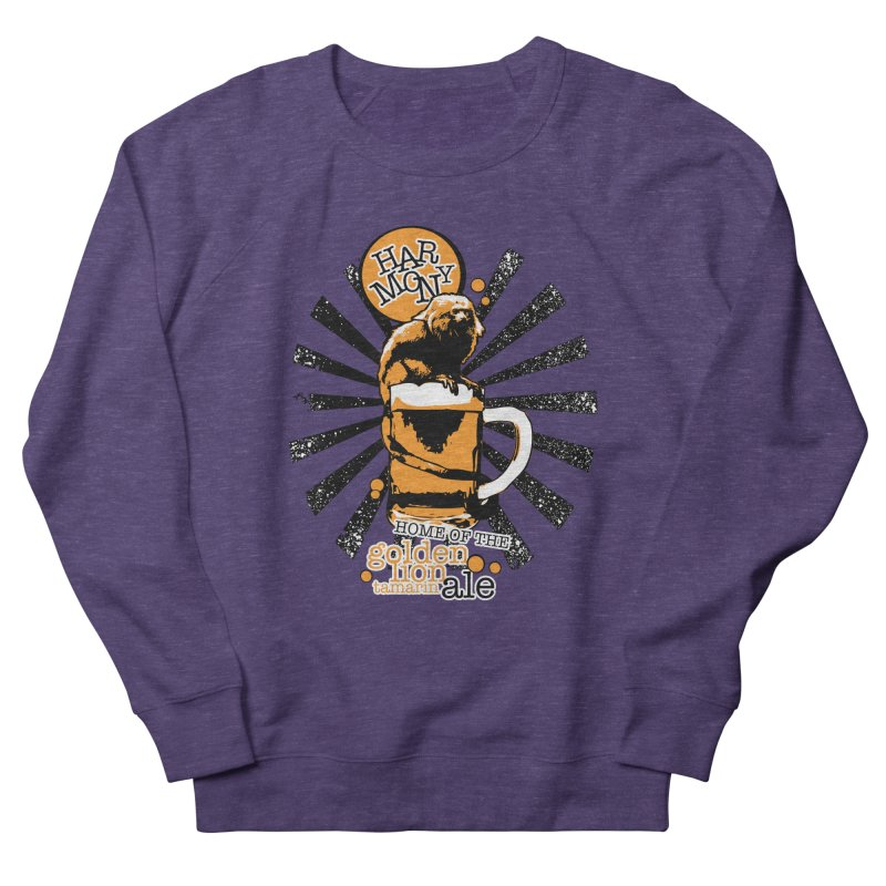 Golden Lion Tamarin Men's Sweatshirt by Harmony Brewing Company