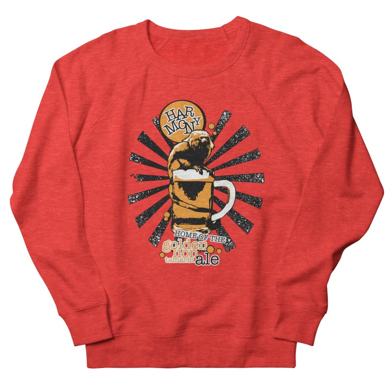 Golden Lion Tamarin Men's Sweatshirt by Harmony Brewing Company