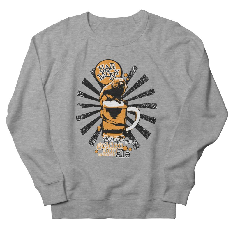 Golden Lion Tamarin Men's French Terry Sweatshirt by Harmony Brewing Company