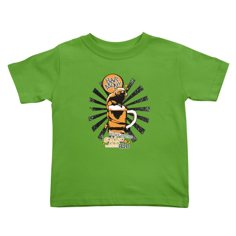 Golden Lion Tamarin Kids Toddler T-Shirt by Harmony Brewing Company
