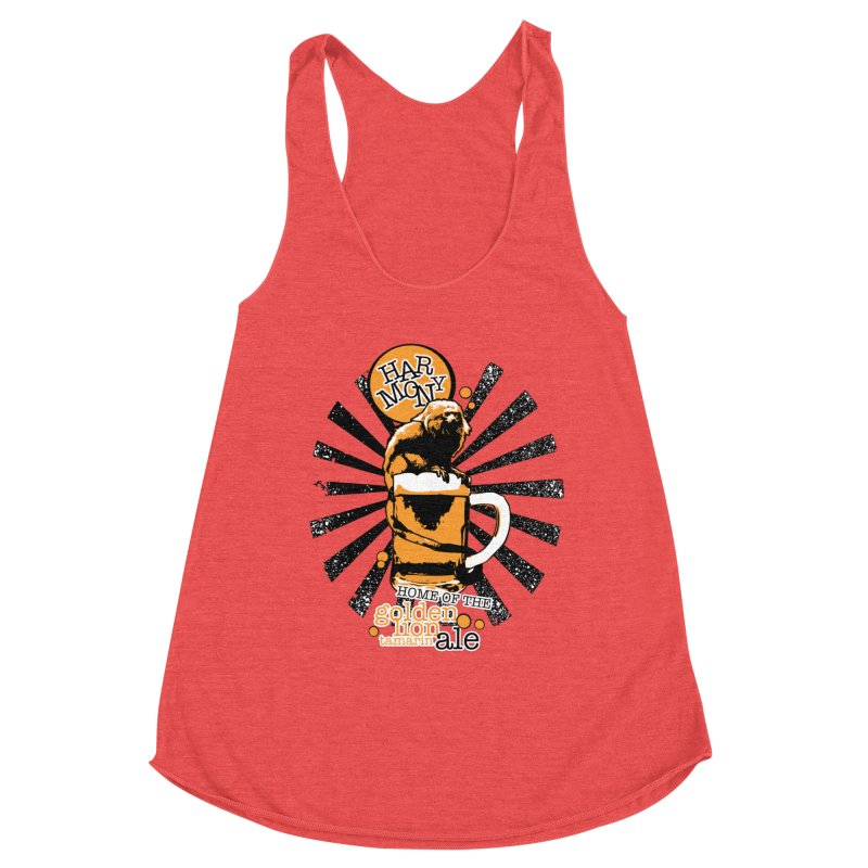 Golden Lion Tamarin Women's Tank by Harmony Brewing Company