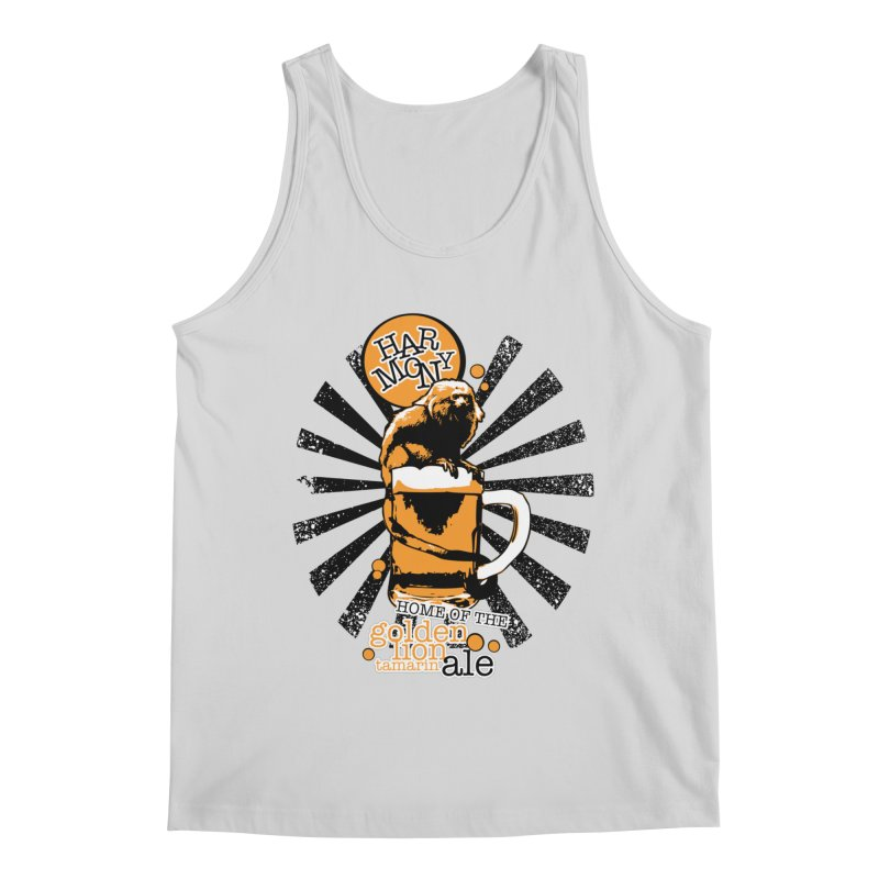 Golden Lion Tamarin Men's Tank by Harmony Brewing Company