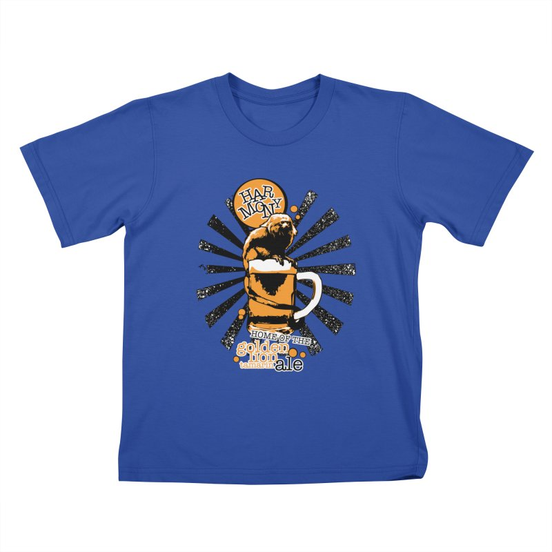 Golden Lion Tamarin Kids T-Shirt by Harmony Brewing Company