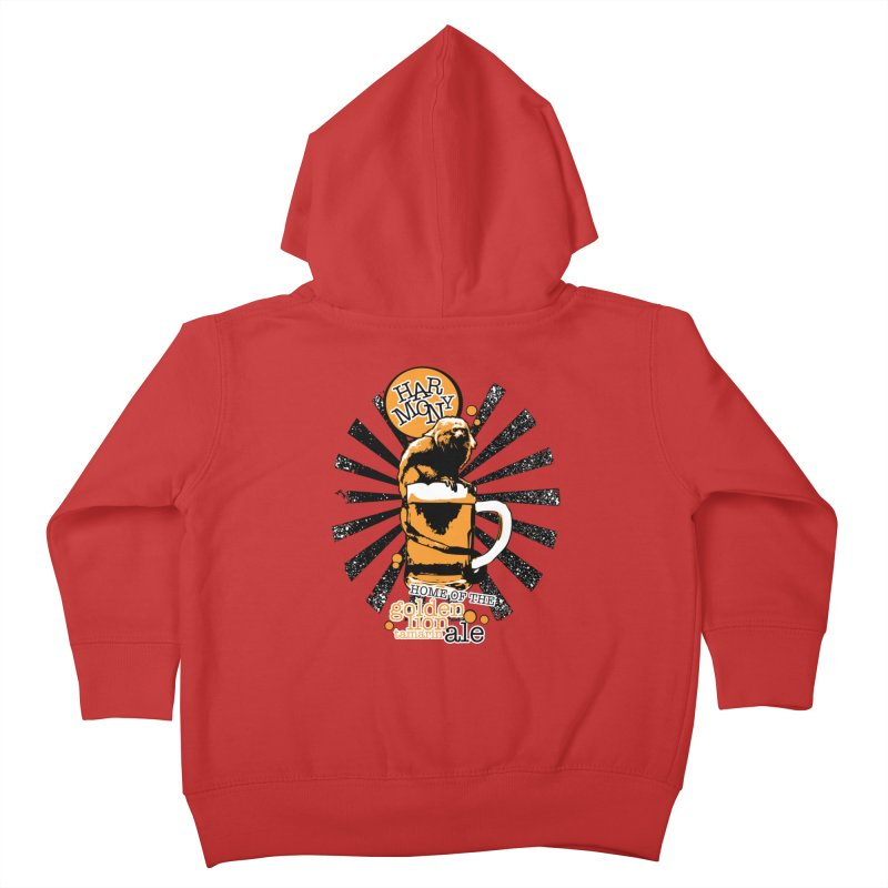 Golden Lion Tamarin Kids Toddler Zip-Up Hoody by Harmony Brewing Company