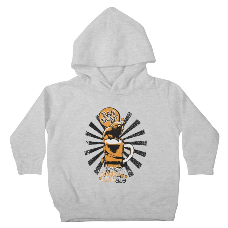 Golden Lion Tamarin Kids Toddler Pullover Hoody by Harmony Brewing Company